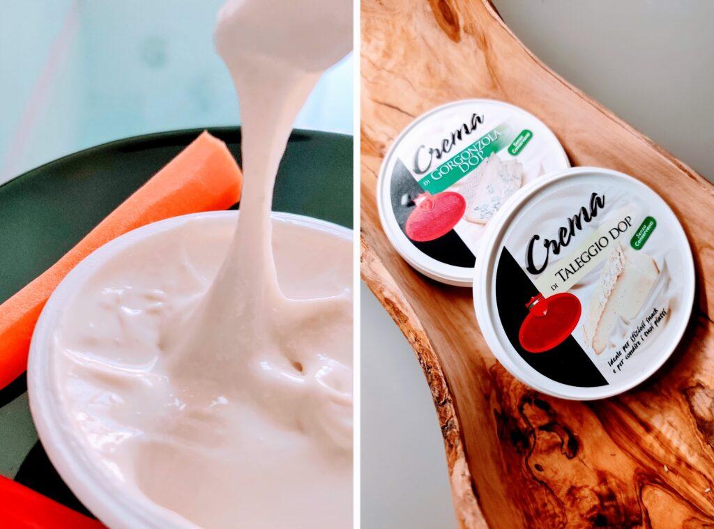 Spread the news… Taleggio and Gorgonzola PDO creams